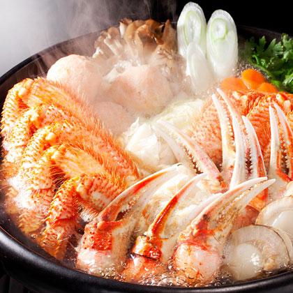 フード撮影蟹鍋画像